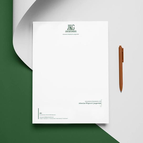 Papier Firmowy JKG