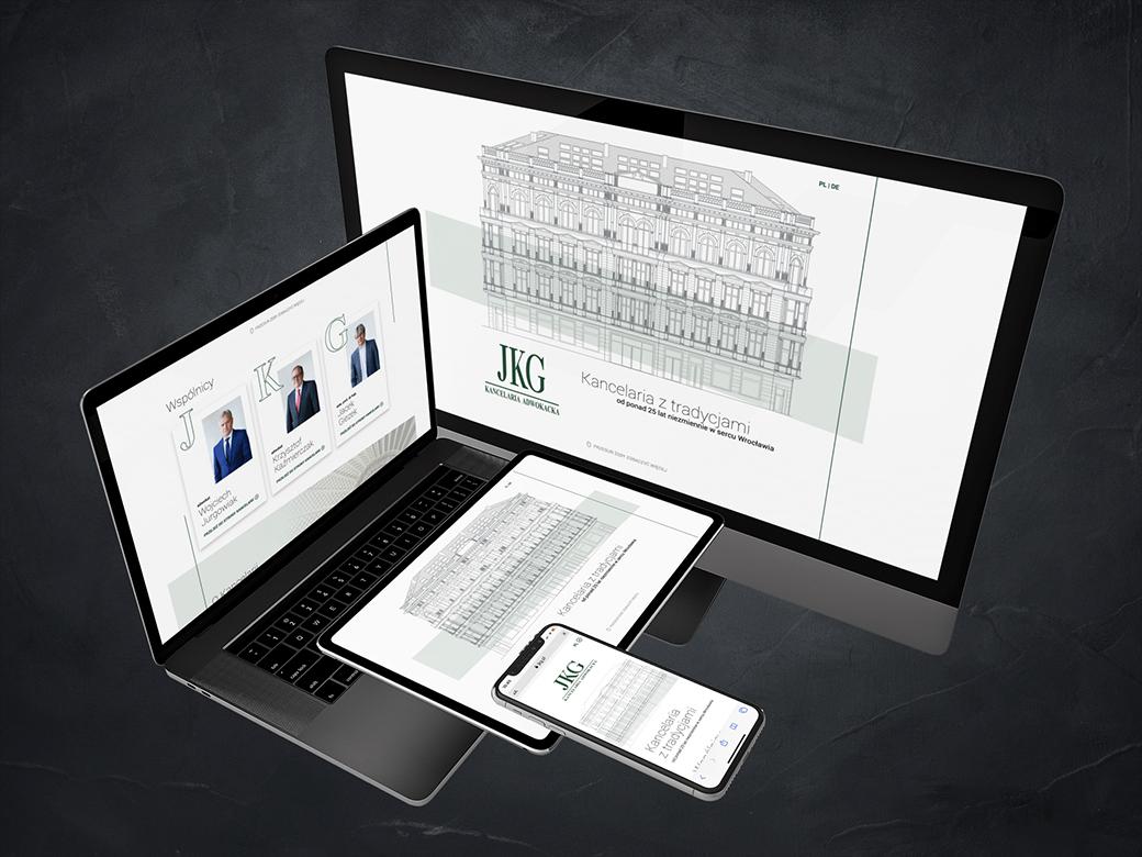 Strona internetowa JKG