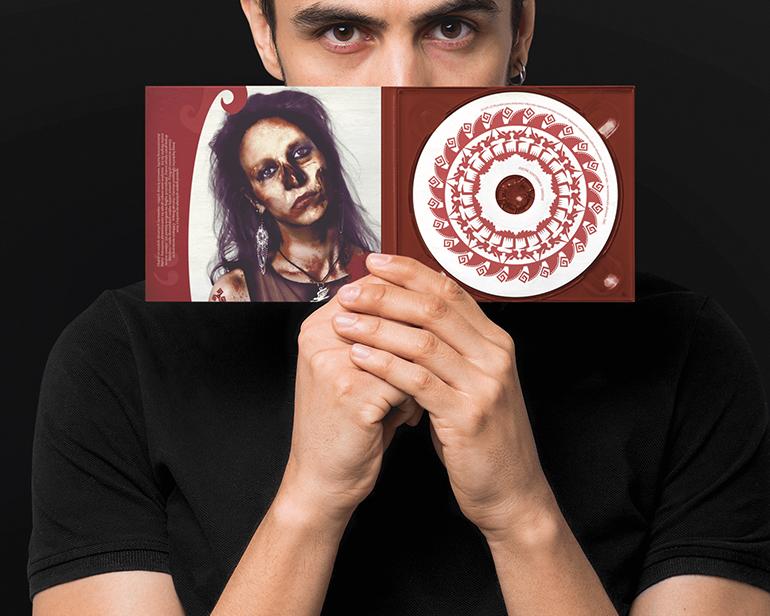 Okładka płyty Svantevit Percival Schuttenbach